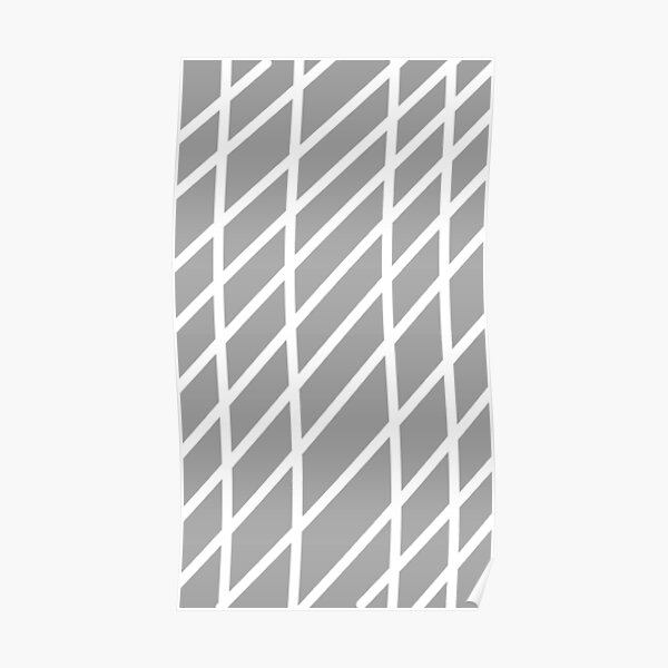 just a (grey) stripe dream Poster