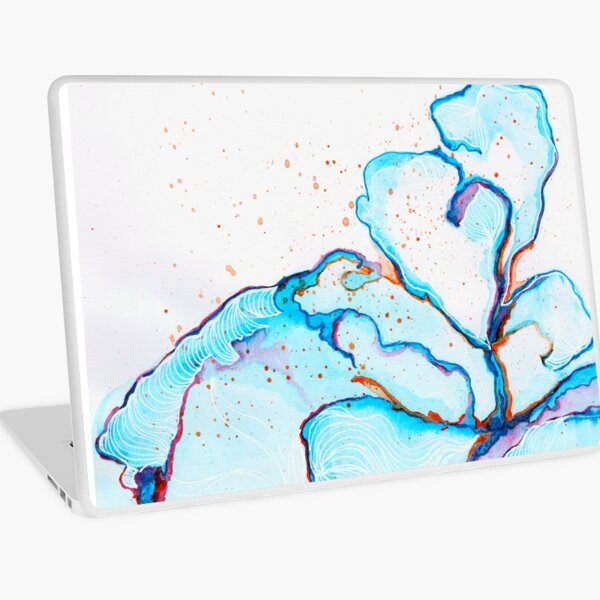 When Waves Crash Laptop Skin