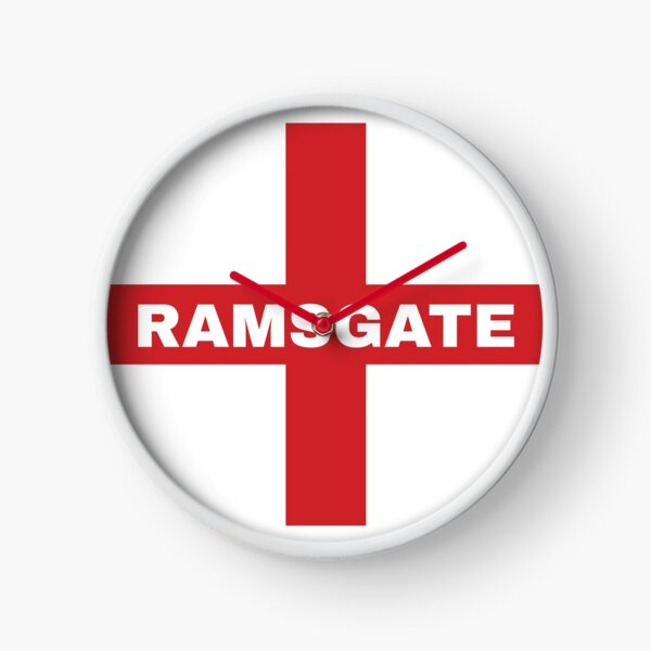 My Home Country Is England and Home City Ramsgate  Clock