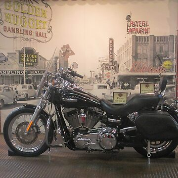 Harley With Old Vintage Las Vegas by kkphoto1