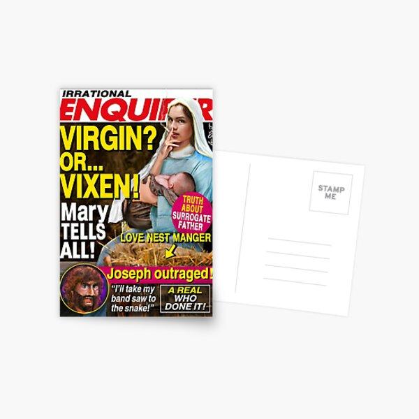 VIRGIN OR VIXEN? Postcard