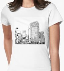 Tokyo - Shibuya Womens Fitted T-Shirt