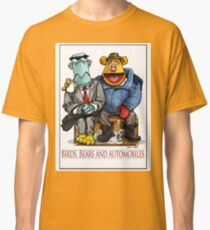 Birds, Bears and Automobiles Classic T-Shirt
