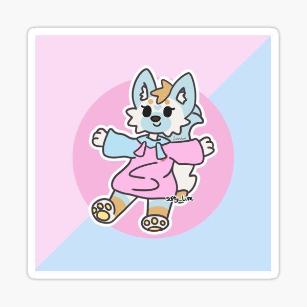 Aggretsuko a inspiré Luna Sticker
