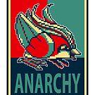 Bird Jesus For Anarchy by Omar Hamed