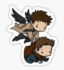 Supernatural -- Destiel -- Sticker