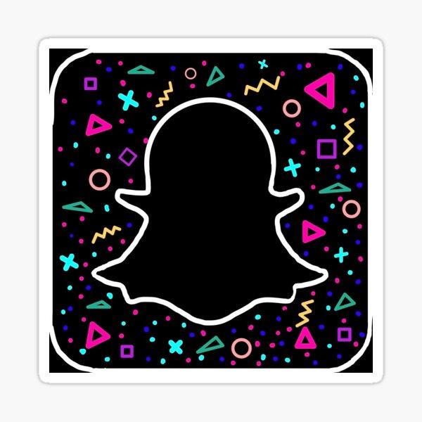 Snapchat Logo Stickers Redbubble