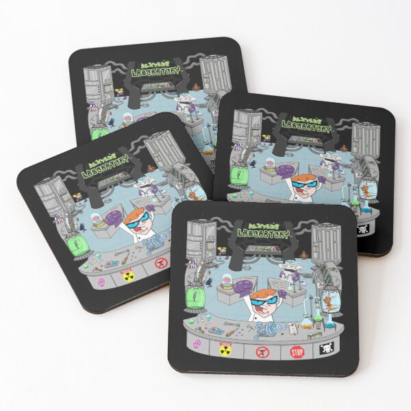 Dexters Laboratory Coasters (Set of 4)