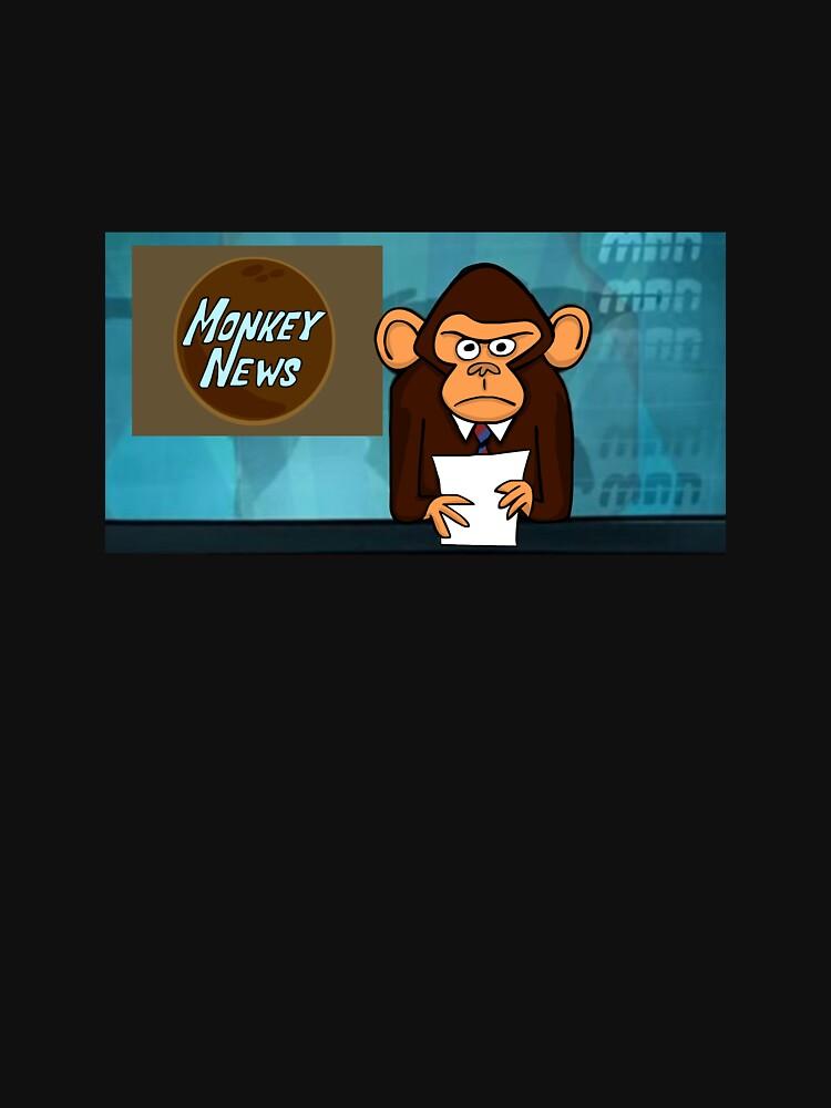 Monkey News by RockmelonSoda