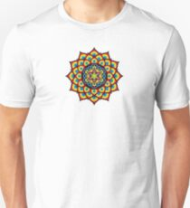 Flower of Life Metatron's Cube Unisex T-Shirt