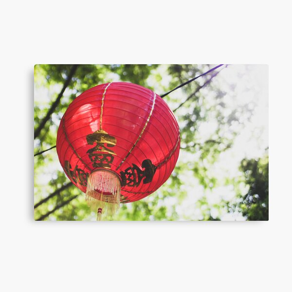 Red Chinese Lantern Canvas Print
