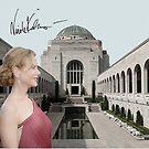 Nicole Kidman in the War Memorial by Dulcina