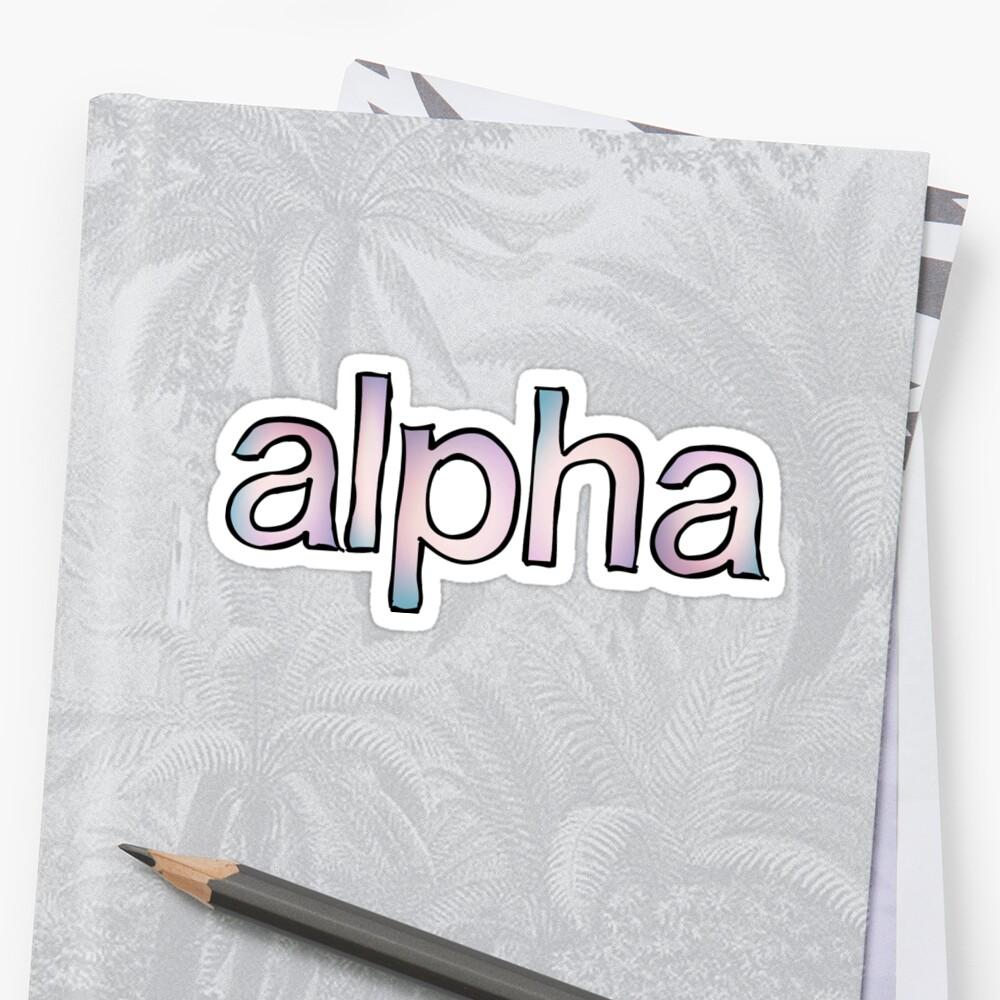 Alpha Fade by trendysticks