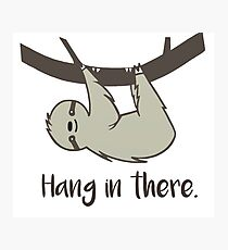 Hang in There! Photographic Print