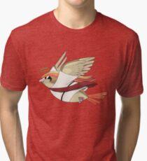 aaabaaajss - Bird Jesus Tri-blend T-Shirt