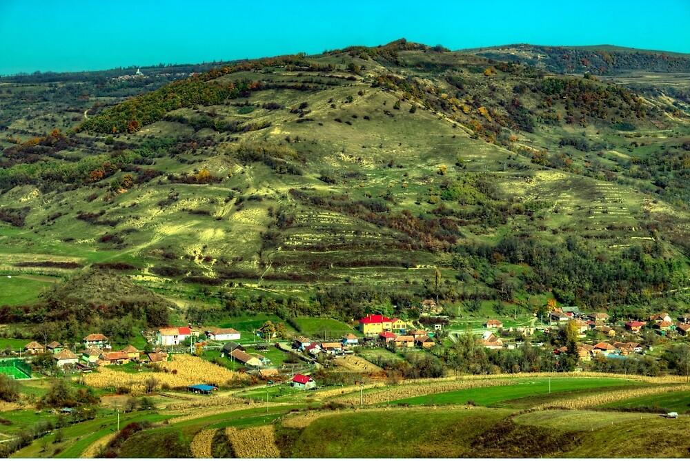 Szépkenyerűszentmárton / Sanmartin, Romania by PeterCseke