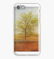 Lonely tree.I iPhone Case/Skin