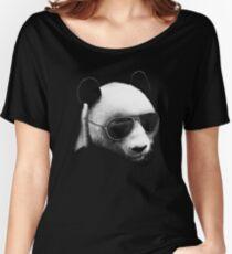 Aviator Panda Bear Women's Relaxed Fit T-Shirt
