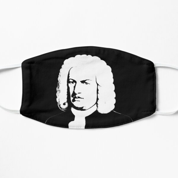 Johann Sebastian Bach abstrakt Maske