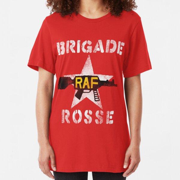 Distressed Brigade Rosse Slim Fit T-Shirt