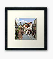 Hounds of the Baskervilles Framed Print