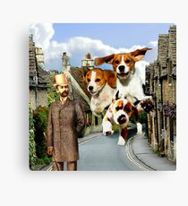 Hounds of the Baskervilles Canvas Print