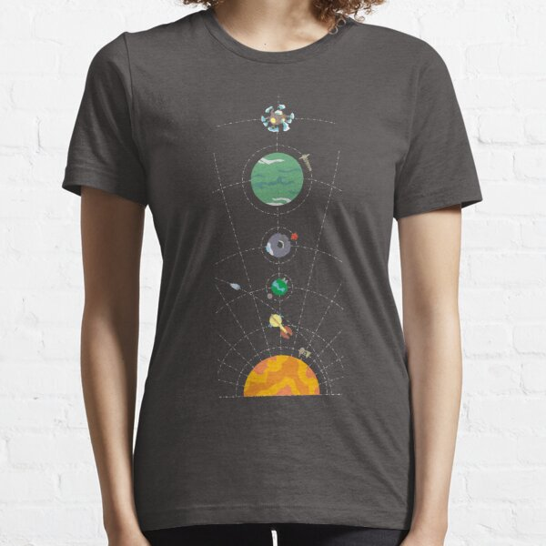 Outer Wilds Hearthian System Map Essential T-Shirt