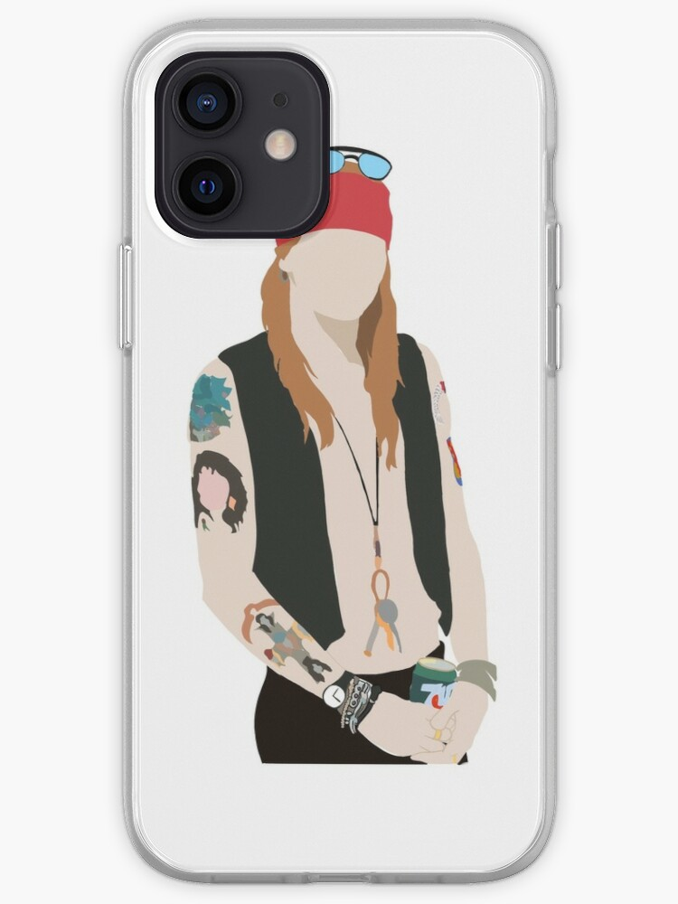 Axl Rose of Guns N Roses   iPhone Case & Cover