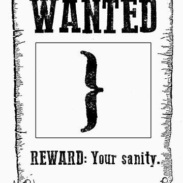 Wanted } by MenteCuadrada