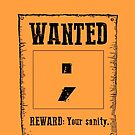 Wanted ; by MenteCuadrada
