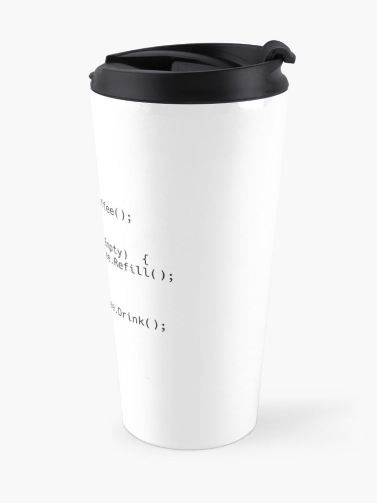 Alternative Ansicht von Kaffee-Skript Thermobecher
