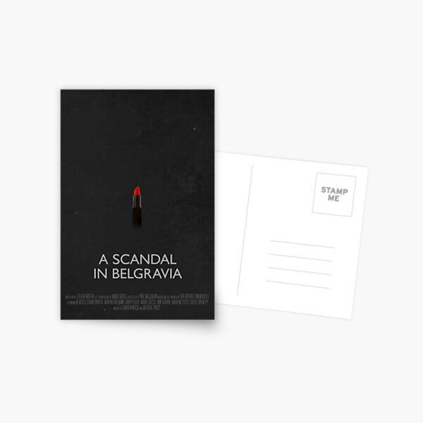 Sherlock - A Scandal In Belgravia Postcard