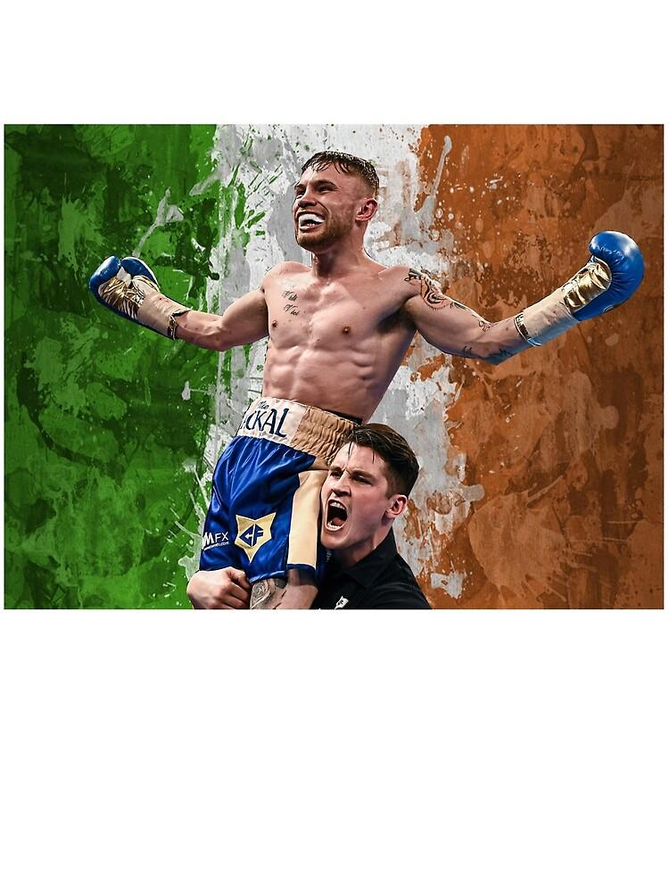 Carl Frampton Boxing World Champion Irish Flag by RighteousOnix