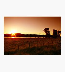 Northern Dusk - Northern Tablelands - NSW Photographic Print