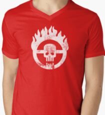 Mad Max Skull Men's V-Neck T-Shirt