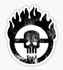 Mad Max Skull Sticker