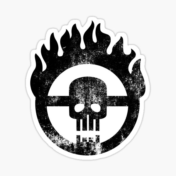 Mad Max Skull Pegatina