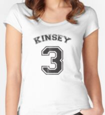 Kinsey 3 Women's Fitted Scoop T-Shirt