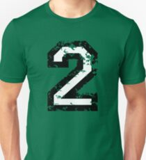 The Number Two - No. 2 (two-color) white Unisex T-Shirt
