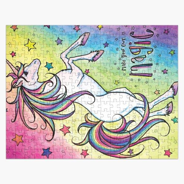 Make Your Own Magic Unicorn Puzzle Jigsaw Puzzle