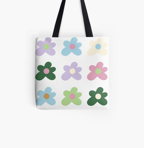 golfwang flowers All Over Print Tote Bag
