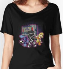 Old Skool 80s Cartoon B Boys (and girl) Women's Relaxed Fit T-Shirt