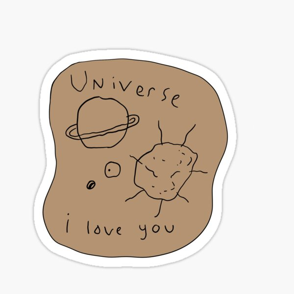 Matthew Gray Gubler Drawing Sticker