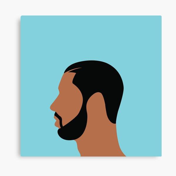 Drake Illustration Canvas Print