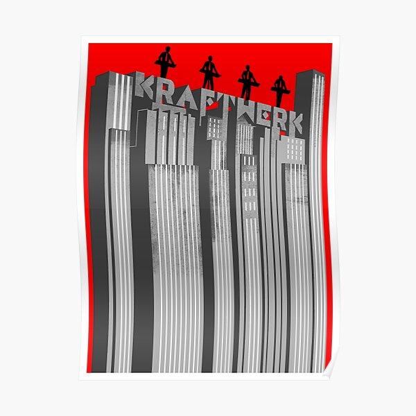 Kraftwerk skyscrapers Poster