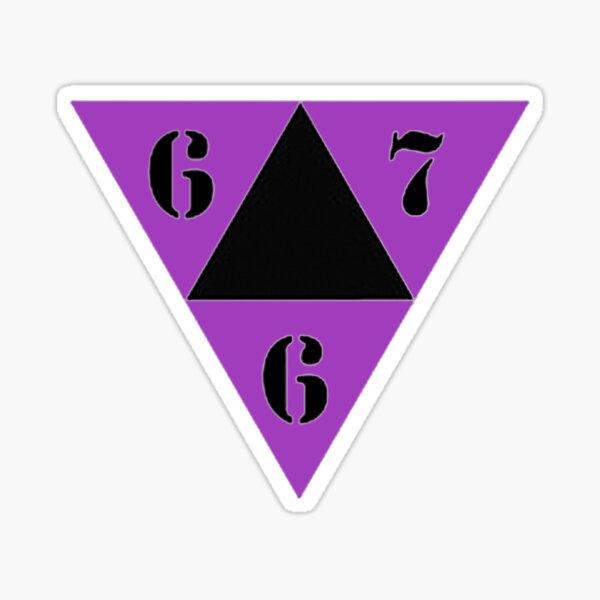 667 Logo Sticker