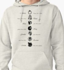 Seven Deadly Sins Pullover Hoodie