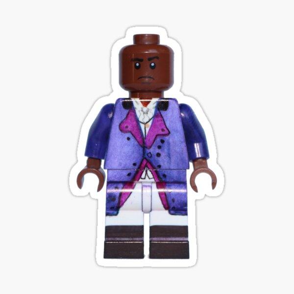 Aaron Burr - Hamilton - Broadway Bricks Sticker