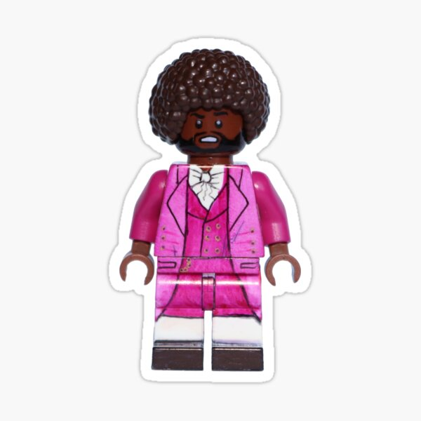 Thomas Jefferson - Hamilton - Broadway Bricks Sticker