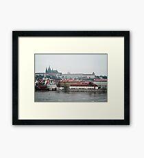 Gloomy Prague Framed Print